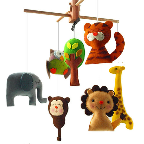Safari Quest Adventure | Storybook Baby Mobile
