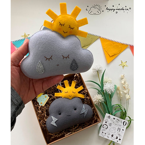 Happy Cloud Sun | Be Brave Edition Plushie