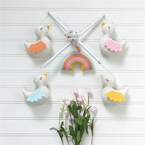 Happy Birds Parade | Decorative Baby Mobile