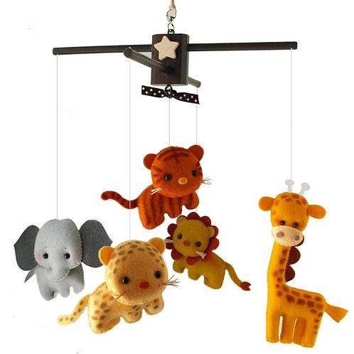 Safari Fun Animals | Baby Mobile