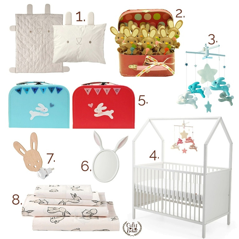 Storyboard by Gifts Define, bunny theme spring or easter inspired nursery decor