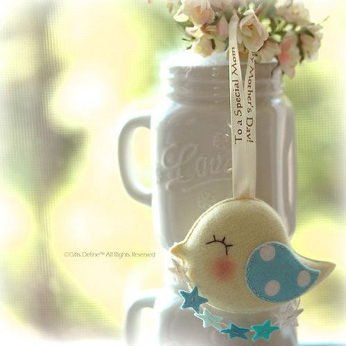 Mother's Day Greeting Bird | Gift Keepsake