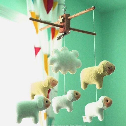 Counting Sheep | Baby Mobile