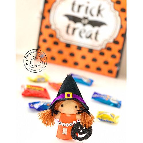 BOO-tiful  Halloween Witch