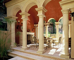 Classical Mediterranean Architecture in California
