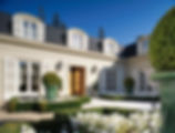 Classical French Architecture in Atherton, California