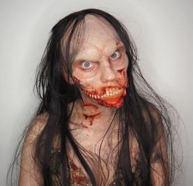 Zombie/vampire hybrid makeup
