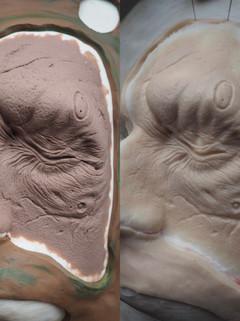 Ex Borg sculpt and prosthetic