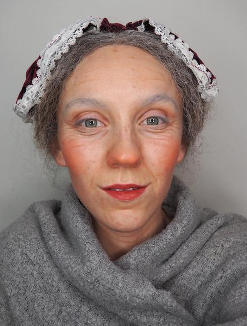 Mrs Claus 2D makeup