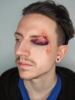 Injury makeup