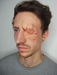 Star Trek Ex Borg inspired makeup