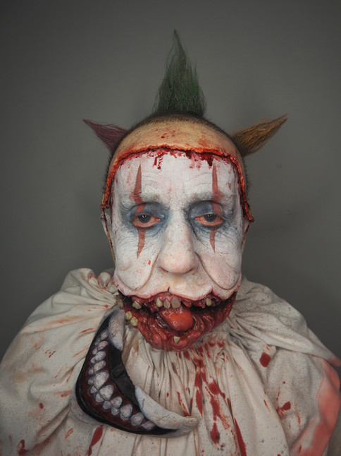 American Horror Story Twisty the clown recreation