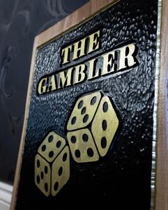 Wooden Gambler Sign - KPD