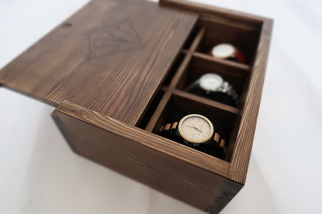 Wooden Watch Box- KPD Designer Maker