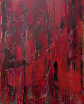 Thinking In Red - SOLD