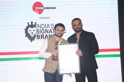 Jairam Mishra with Sunil Sethi