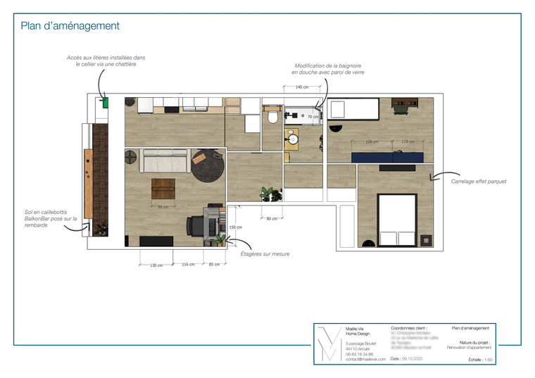 Meudon - plan d'aménagement