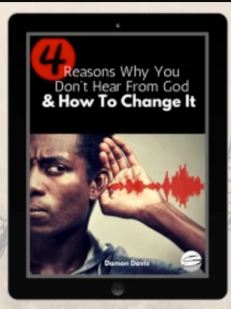 4 Reasons Why You Don't Hear From God And How To Change It