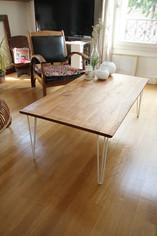Table de salon en 4 pieds 3 mouvements