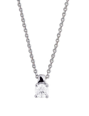 COLLIER SOLITAIRE DIAMANT 4 GRIFFES