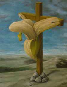 ゴルゴダの丘のバナナ