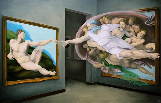 退屈な現代美術館を蘇らせるミケランジェロの作品