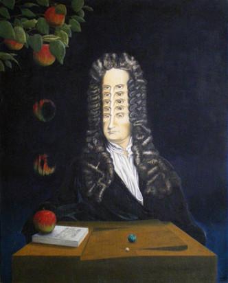 アイザック・ニュートンの肖像画