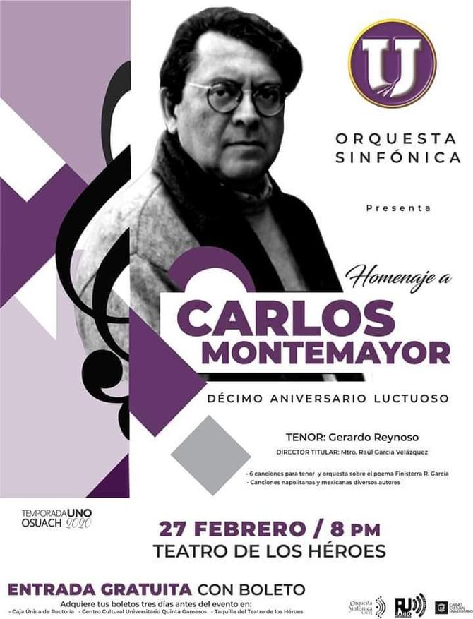 Homenaje a Carlos Montemayor en su Décimo Aniversario Luctuoso: Orquesta Sinfónica de la Universidad