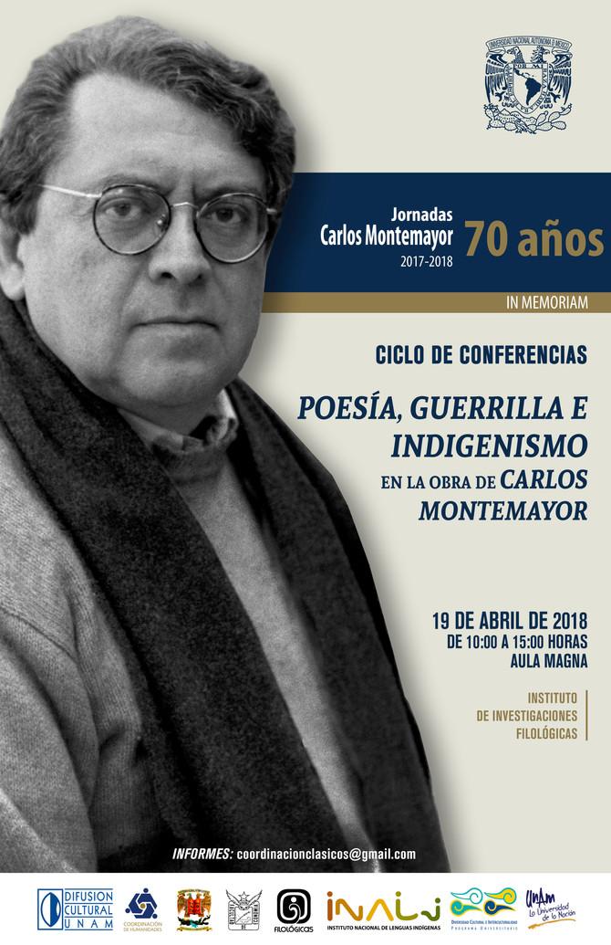 Ciclo de conferencias: Poesía, guerrilla e indigenismo: 19 de abril de 2018, Filológicas- UNAM