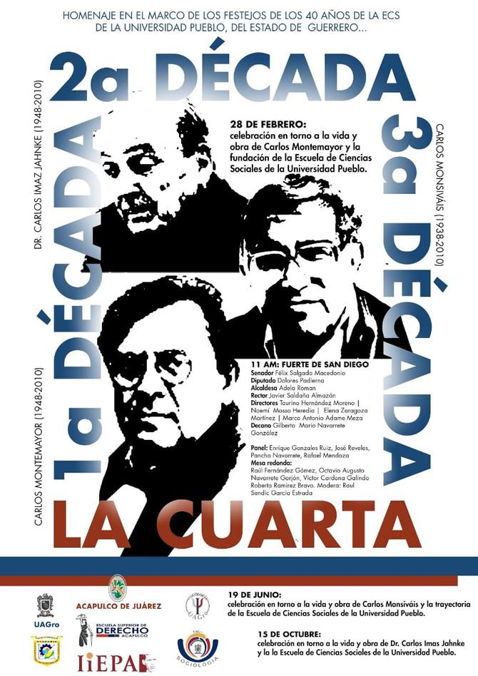 Celebración en torno a la vida y obra de Carlos Montemayor: UAGRO