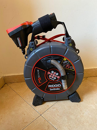 Ridgid SeeSnake Microreel with Sonde and counter + CA-350 Monitor