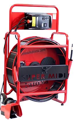 מערכת חשמלית לחיתוך כרסום והברשה - Super Midi Miller