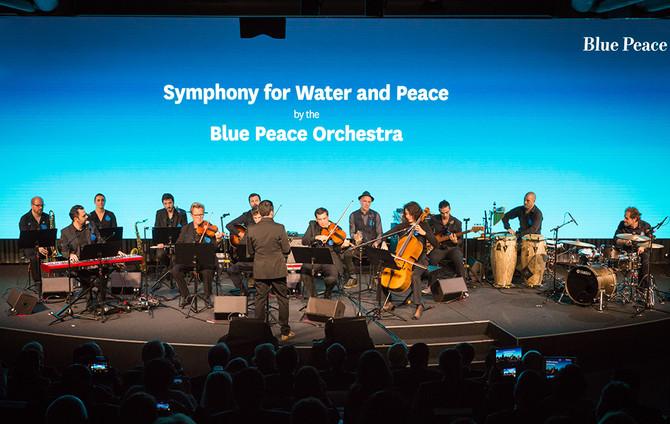 Le Blue Peace Orchestra en concert à LUGANO