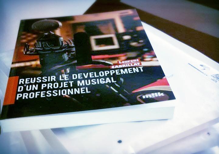 """Livre """"Réussir le développement d'un projet musical professionnel"""""""
