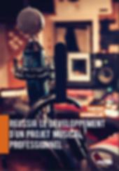 Livre Réussir développement projet musical professionnel