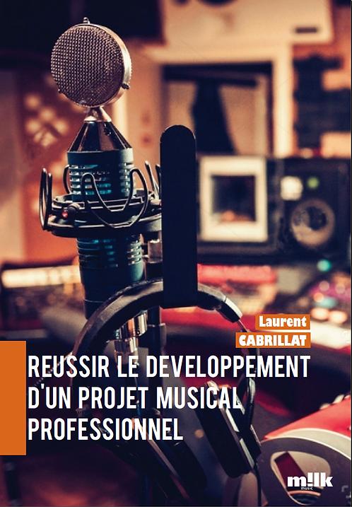 Couverture livre Réussir le développement d'un projet musical professionnel
