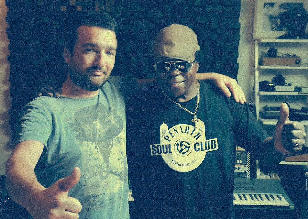 Lee Fields au Studio MILK MUSIC