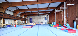gymnastic hall front view