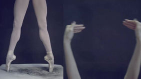 Hand sign lenguage in Ballet