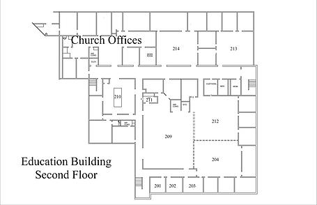 Education Building Second Floor