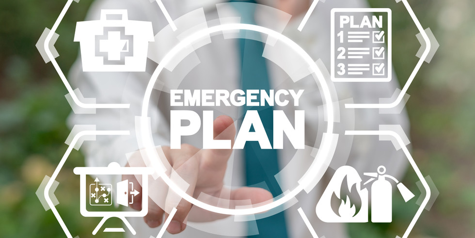 Emergency Preparedness Checklist Plan Bu