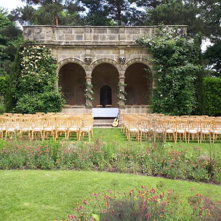 Outdoor Wedding at Nyman's Gardens