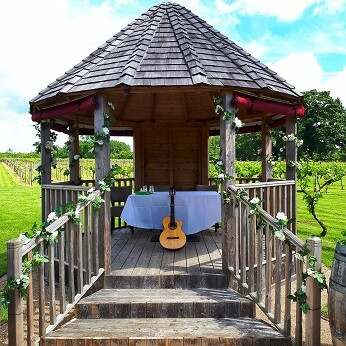 One of many lovely wedding venues I played at last year, I'll be posting more over the next few weeks.