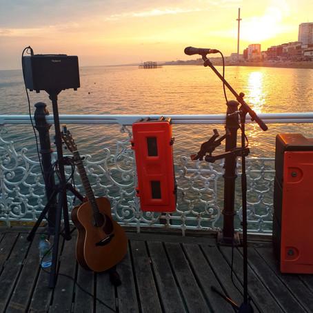 Marriage Proposal on Brighton Pier