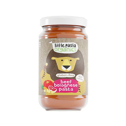 Little Pasta Organics Gluten Free Beef Bolognese Pasta Baby Food (1 x 180g)