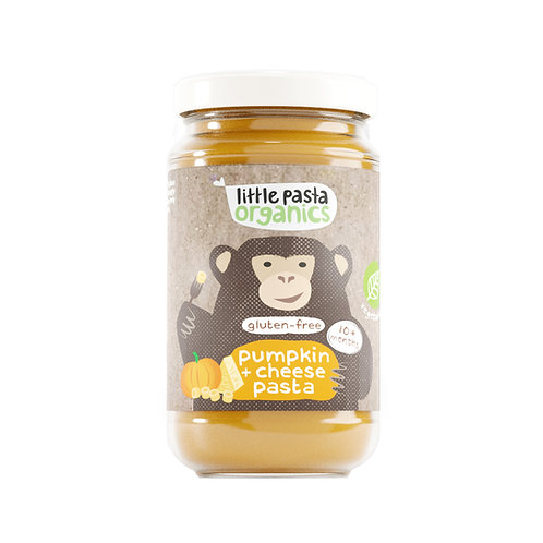 Little Pasta Organics Gluten Free Pumpkin & Cheese Pasta Baby food (1 x 180g)