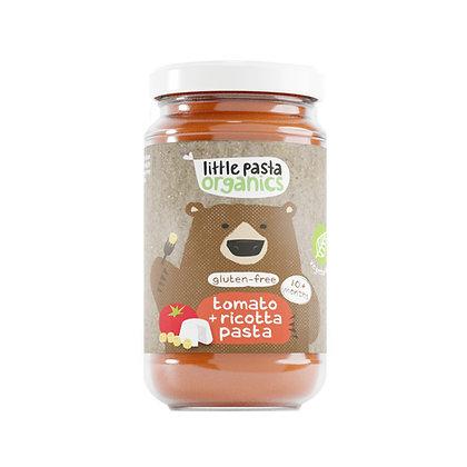 Little Pasta Organics Gluten Free Tomato & Ricotta Pasta Baby food (6 x 180g)
