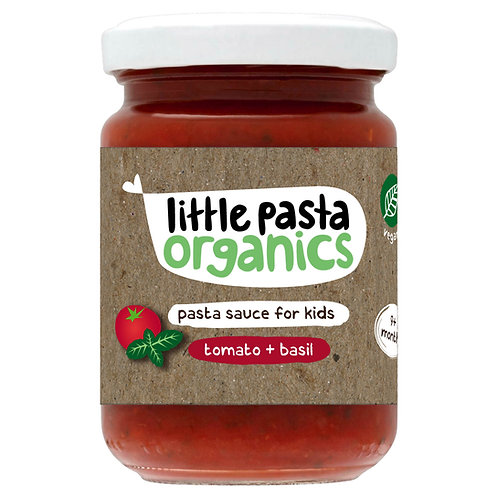 Little Pasta Organics Tomato & Basil Sauce (1 x 130g)