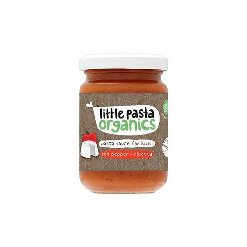 Little Pasta Organics Red Pepper & Ricotta Pasta Sauce (6 x 130g)