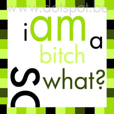 I Am A Bitch